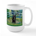 Bridge / Schipperke #4 Large Mug