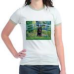 Bridge / Schipperke #4 Jr. Ringer T-Shirt