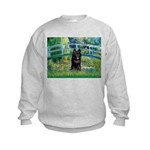 Bridge / Schipperke #4 Kids Sweatshirt