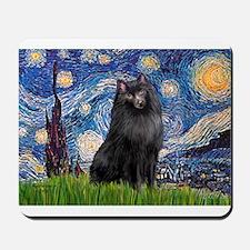 Starry / Schipperke #2 Mousepad