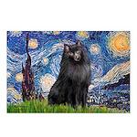 Starry / Schipperke #2 Postcards (Package of 8)