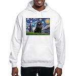 Starry / Schipperke #2 Hooded Sweatshirt
