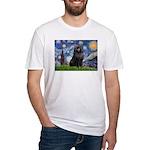 Starry / Schipperke #2 Fitted T-Shirt