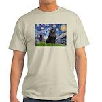 Starry / Schipperke #2 Light T-Shirt