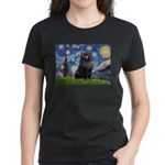 Starry / Schipperke #2 Women's Dark T-Shirt