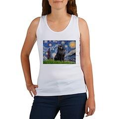 Starry / Schipperke #2 Women's Tank Top
