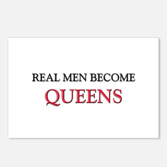 Real Men Become Queens Postcards (Package of 8)
