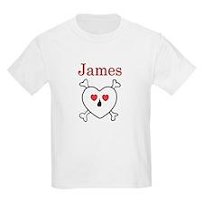 James - Love Pirate T-Shirt