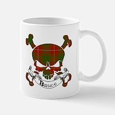 Bruce Tartan Skull Mug