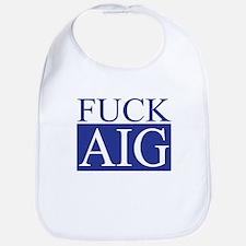 Fuck AIG Bib