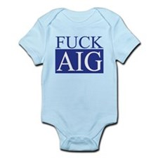 Fuck AIG Infant Bodysuit