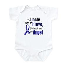 Angel 1 UNCLE Colon Cancer Infant Bodysuit