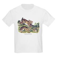 Audubon Cottontail Rabbit (Front) T-Shirt