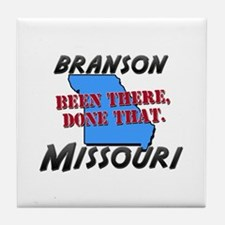 branson missouri - been there, done that Tile Coas