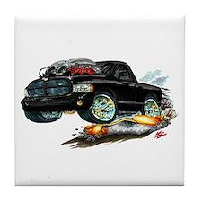 Dodge SRT-10 Black Truck Tile Coaster