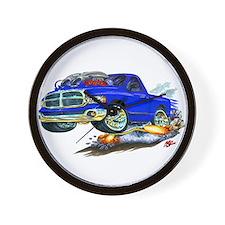 Dodge SRT-10 Blue Truck Wall Clock