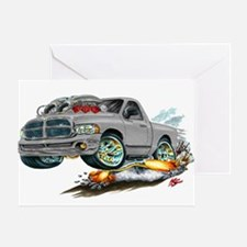 Dodge SRT-10 Grey Truck Greeting Card
