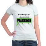 Non Hodgkin's Warrior Jr. Ringer T-Shirt
