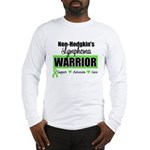 Non Hodgkin's Warrior Long Sleeve T-Shirt