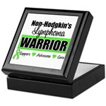 Non Hodgkin's Warrior Keepsake Box