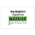 Non Hodgkin's Warrior Large Poster