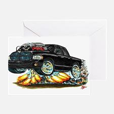 Dodge SRT-10 Black Dual Cab Greeting Card