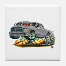 Dodge SRT-10 Grey Dual Cab Tile Coaster