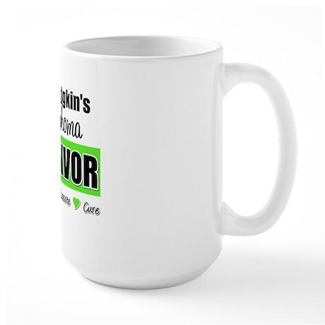 NonHodgkinsLymphomaSurvivor Large Mug