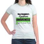 Non-Hodgkin's Awareness Jr. Ringer T-Shirt