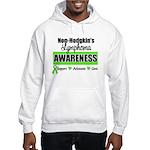 Non-Hodgkin's Awareness Hooded Sweatshirt