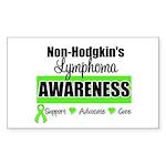 Non-Hodgkin's Awareness Rectangle Sticker 50 pk)