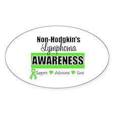 Non-Hodgkin's Awareness Oval Sticker (10 pk)