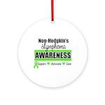 Non-Hodgkin's Awareness Ornament (Round)