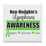 Non-Hodgkin's Awareness Tile Coaster