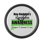 Non-Hodgkin's Awareness Large Wall Clock