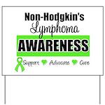 Non-Hodgkin's Awareness Yard Sign