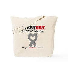 Brain Cancer Son Tote Bag