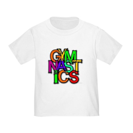 Scrambled Gymnastics Toddler T-Shirt