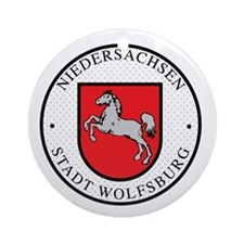 Wolfsburg Ornament (Round)
