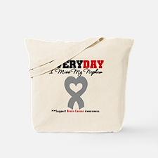 Brain Cancer Nephew Tote Bag