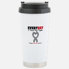 Brain Cancer Nephew Travel Mug
