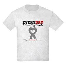 Brain Cancer Mother T-Shirt