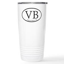 VB Virginia Beach Oval Travel Mug