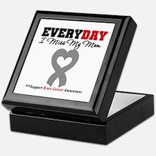 Brain Cancer Mom Keepsake Box