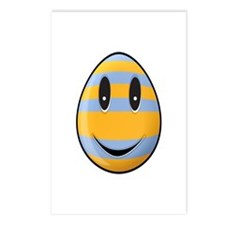 Smiley Easter Egg Postcards (Package of 8)