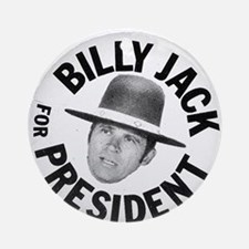 Billy Jack For President (round) Round Ornament