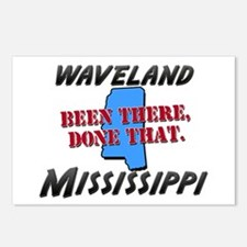 waveland mississippi - been there, done that Postc