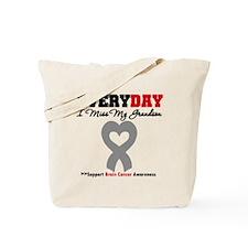 Brain Cancer Grandson Tote Bag