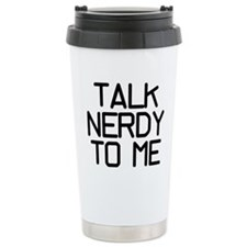 Talk Nerdy Travel Mug