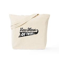 New Mom of Twins Tote Bag